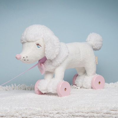 RAGTALES COCO PULL ALONG POODLE TOY