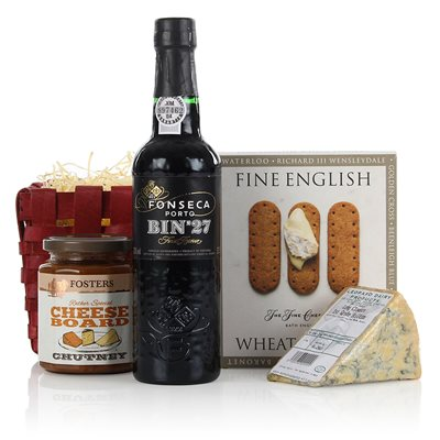 PORT & STILTON LUXURY GIFT HAMPER