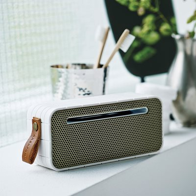 aMOVE BLUETOOTH SPEAKER in White