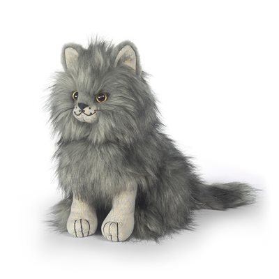 POSH MAJESTIC MAINE COON CAT Animal Doorstop