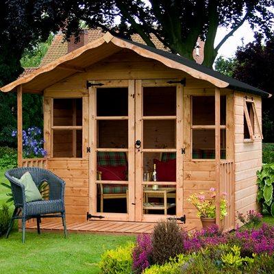 PREMIUM TRADITIONAL GARDEN SUMMER HOUSE by Mercia