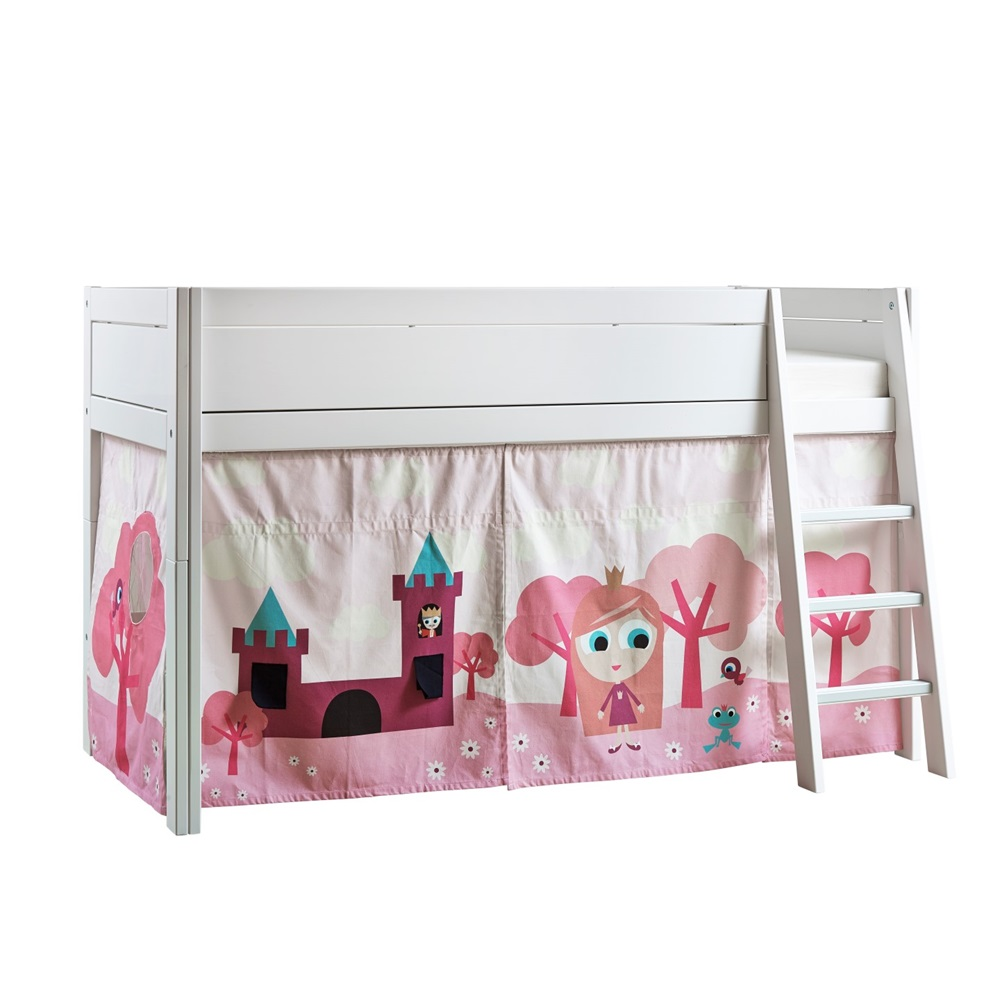 princess girls cabin bed lifetime furniture cuckooland. Black Bedroom Furniture Sets. Home Design Ideas