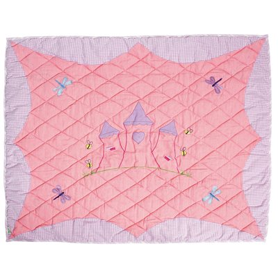 Princess Castle Floor Quilt by Win Green