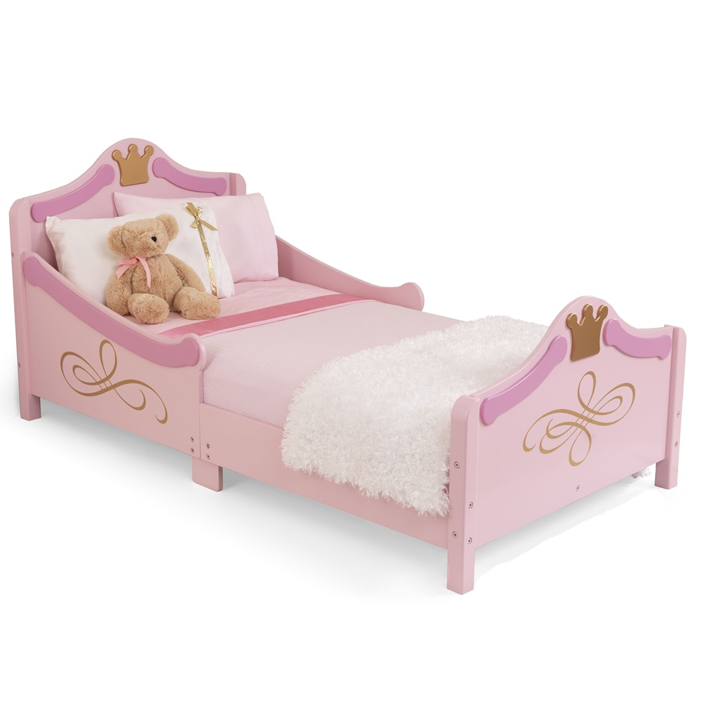 Kids Beds PRINCESS TODDLER BED Previous Princess Pink Girls Bed Cut Out