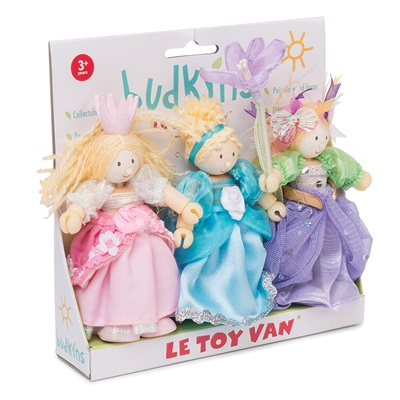 LE TOY VAN BUDKINS PRINCESS FIGURES