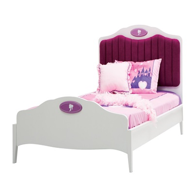 CHILDREN'S SINGLE BED in Princess Design