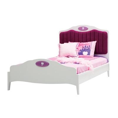 CHILDREN'S SMALL DOUBLE BED in Newjoy Princess Design