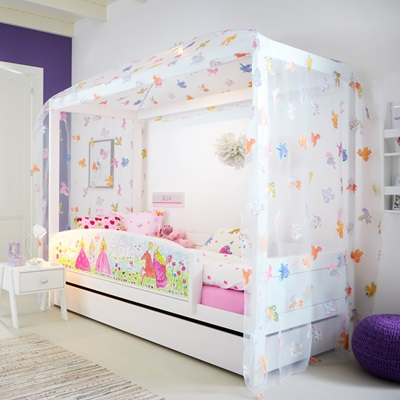 Princess 4 Poster Girls Bed - Lifetime Furniture | Cuckooland