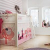 girls bed in princess design