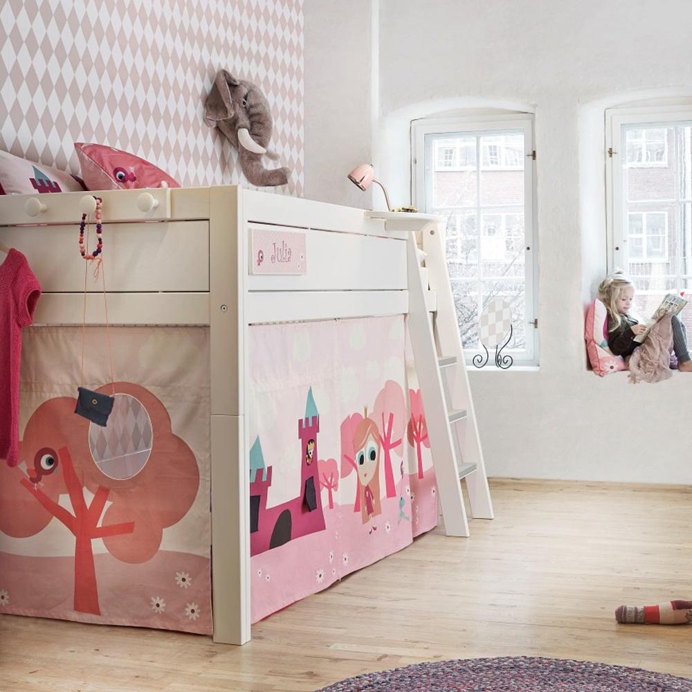 Princess girls cabin bed lifetime furniture cuckooland - Cabane enfant chambre ...