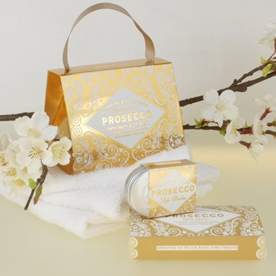 BATH HOUSE PROSECCO HANDBAG TREAT