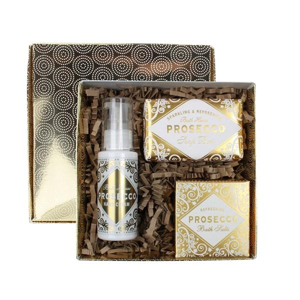 Bath House Prosecco Pamper Gift Box
