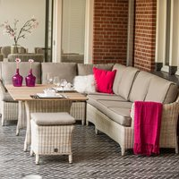 PROVANCE RATTAN CORNER SET by 4 Seasons Outdoor