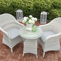 PROVANCE RATTAN BISTRO SET by 4 Seasons Outdoor