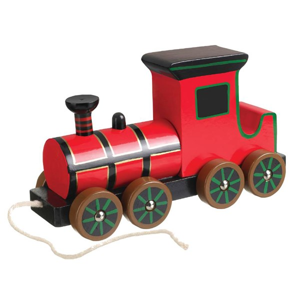 Red Boys Train Toy by Luxury Toy Brand - Great Gift for Kids