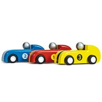 Le Toy Van Pull Back Racing Cars Set of 3