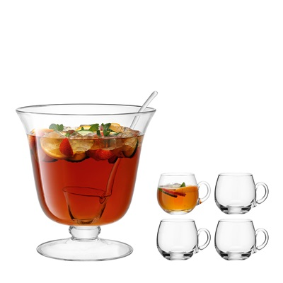 LSA BAR PUNCH BOWL Set