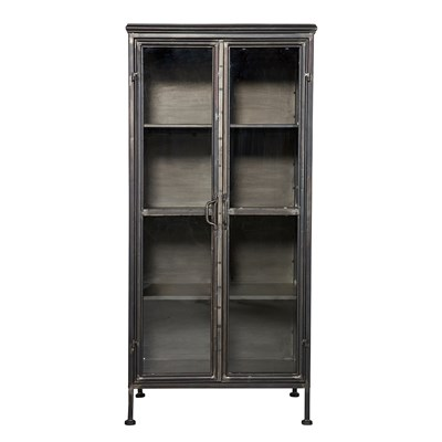 PURISTIC METAL DISPLAY CABINET By Be Pure Home