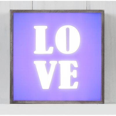 LIGHT BOX in Love Design