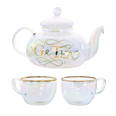G&Tea Glass Cocktail Set