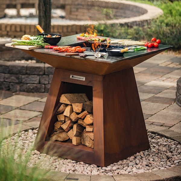 Quan Quadro Premium Large Barbecue Fire Pit