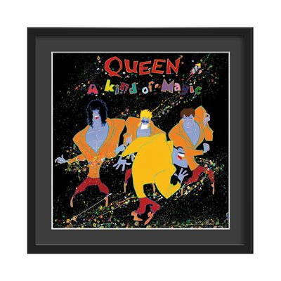 QUEEN FRAMED ALBUM WALL ART in A Kind Of Magic Print