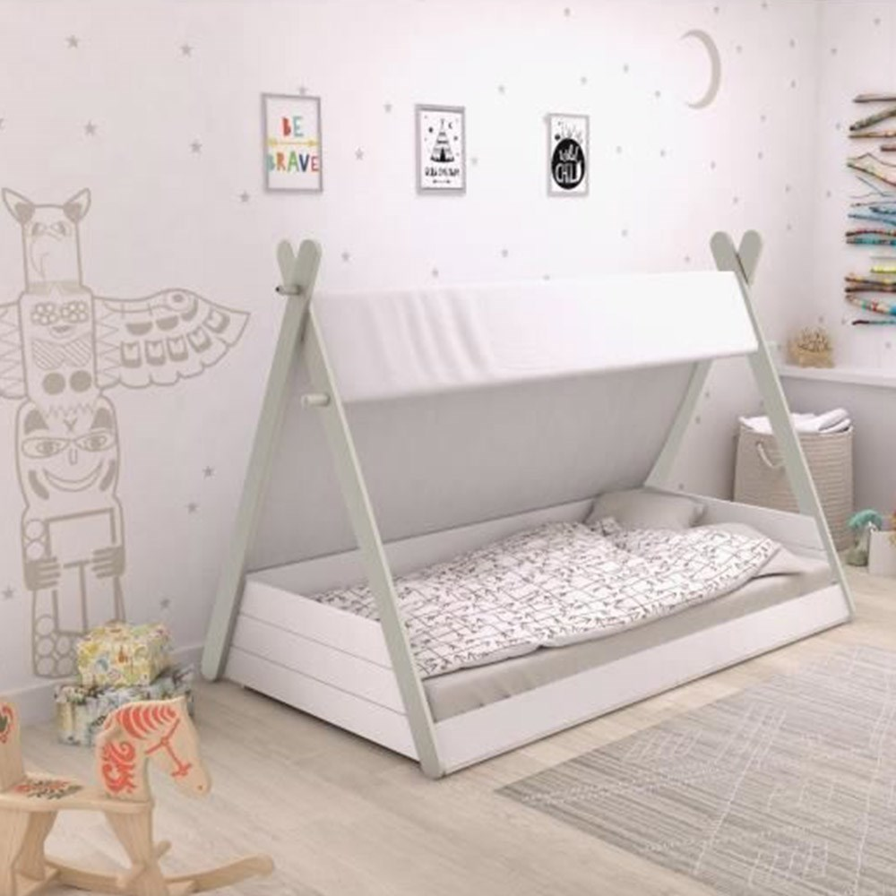 Kids Teepee Bed With Canopy Flair Furniture Cuckooland