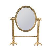 Product photograph showing Dutchbone Falcon Mirror - Black