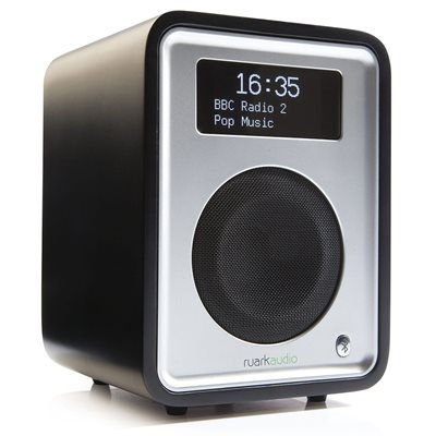 RUARK AUDIO R1 MK3 DELUXE DAB RADIO in Black
