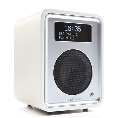 RUARK AUDIO R1 MK3 DELUXE DAB RADIO in White