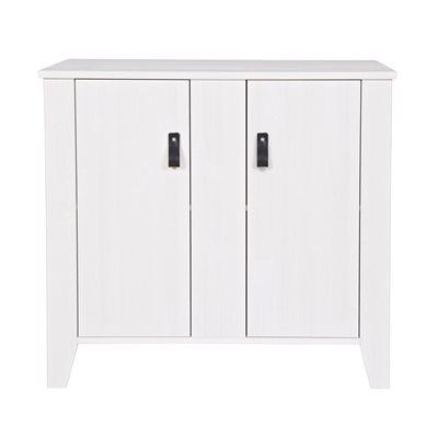 RAF 2 DOOR CABINET in White