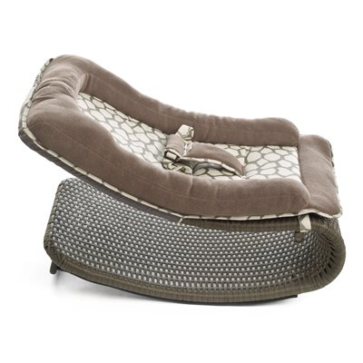 RELAXOON Baby and Toddler Lounger in Taupe