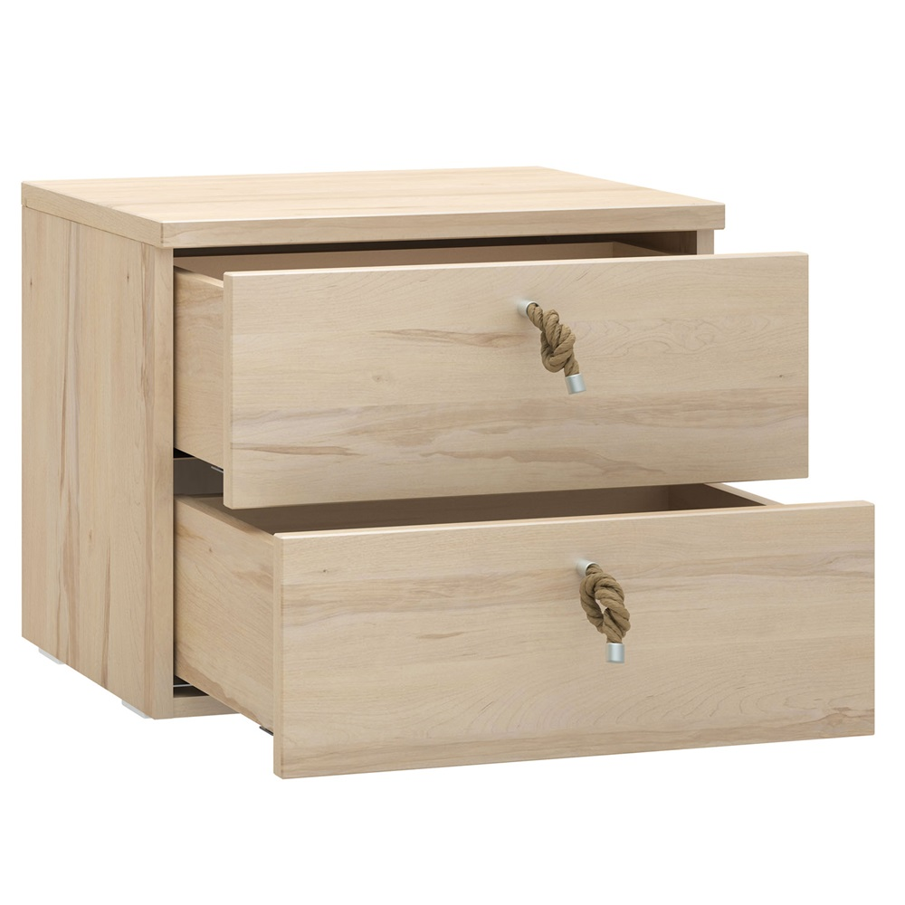 RO Beech Bedside Drawer