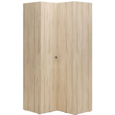R&O CORNER WARDROBE in Beech Effect