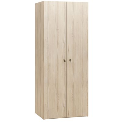 R&O 2 DOOR WARDROBE in Beech Effect