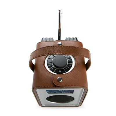 R1 CARRYPACK in Brown Leather by Ruark Audio