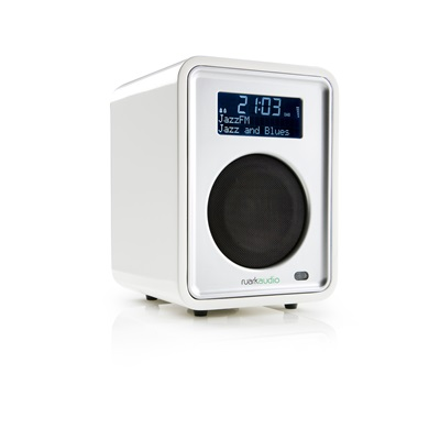 R1 DESKTOP RADIO in Dream White by Ruark Audio