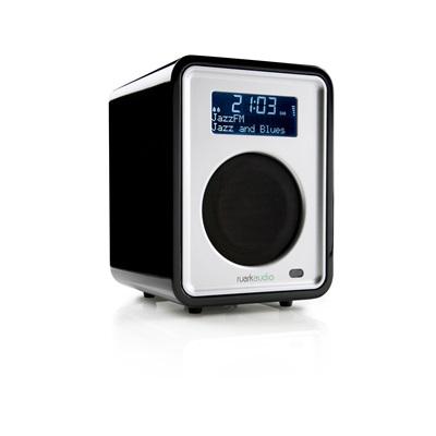 R1 DESKTOP RADIO in Midnight Black by Ruark Audio