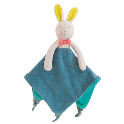 MOULIN ROTY CHILDRENS RABBIT COMFORTER
