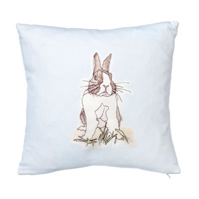 RABBIT CUSHION by Stefanie Pisani