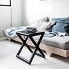 Funky Bedside Table in Black