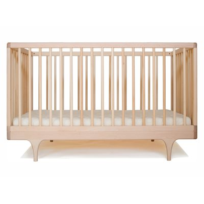 Kalon Studios Caravan Cot & Toddler Bed in Raw Maple