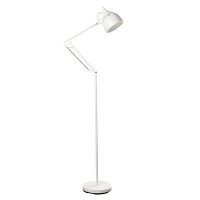 READER FLOOR LAMP in Matte White