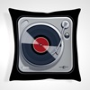 Retro Record Player Designer Cushions and Pillows