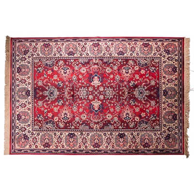 DUTCHBONE BID ANTIQUE STYLE PERSIAN RUG in Old Red
