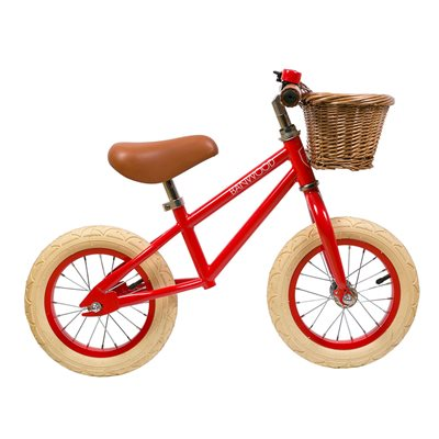 Banwood First Go! Balance Bike in Red