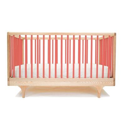 KALON STUDIOS CARAVAN COT & TODDLER BED in Red