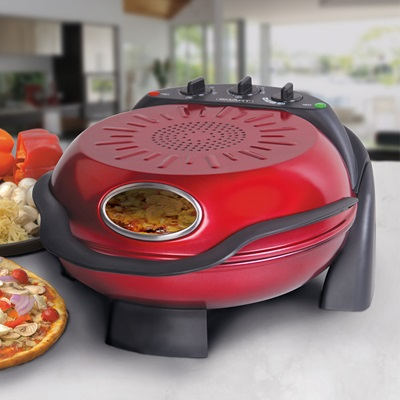 Smart Rotating Stone & Grill Pizza Oven