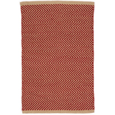 INDOOR OUTDOOR ARLINGTON RUG in Red Camel