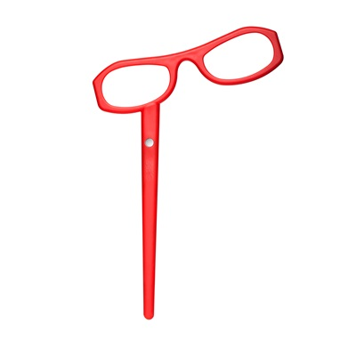 SEE MAGNET RED READING GLASSES by See Concept
